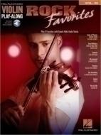 Hal Leonard - Violin Play Along Rock Favorit