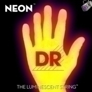 DR Strings - HiDef Yellow Neon Medium 5