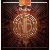 Daddario - NB1047 Nickel Bronze Set