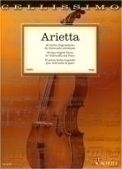 Schott - Arietta Cello
