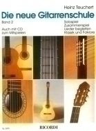 Ricordi - Neue Gitarrenschule 2 Buch +CD