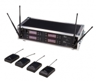the t.bone - free solo PT 520 MHz/4 CH Rack