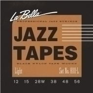 La Bella - 800L Jazz Black Nylon L