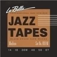 La Bella - 800M Jazz Black Nylon M