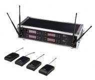 the t.bone - free solo PT 823 MHz/4 CH Rack